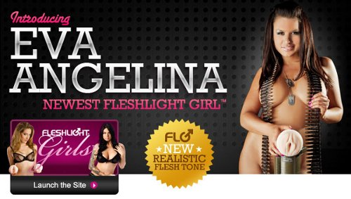 Eva Angelina Fleshlight sex