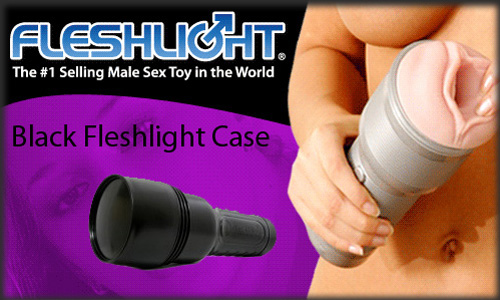 Black Fleshlight Case