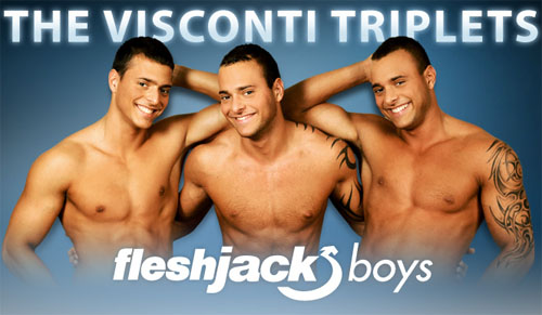 Fleshjack Boys - The Visconti Triplets